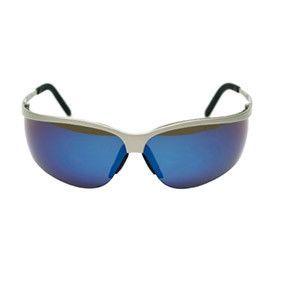 3M veiligheidsbril Metaliks Sport blauw
