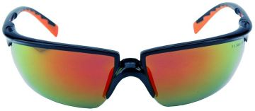 3M veiligheidsbril Solus rood