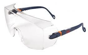 3M veiligheidsbril Nassau Rave blank