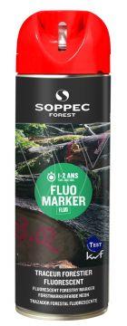SOPPEC markeerverf Tempo marker rood fluoriserend