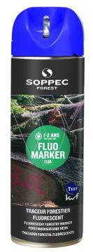 SOPPEC markeerverf Tempo marker blauw fluoriserend
