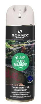 SOPPEC markeerverf Tempo marker wit fluoriserend 141600