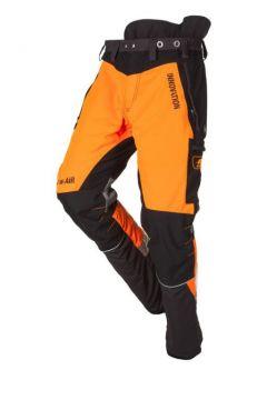 SIP zaagbroek W-Air grijs-oranje fluoriserend regular M 1SBW-013 R