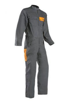 SIP zaagoverall Traditional groen-oranje XL 1SC1-503