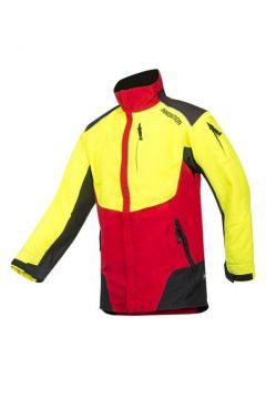 SIP werkjas Innovation rood/fluo geel /zwart L 1SLW-830