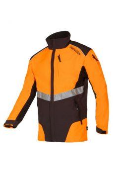 SIP werkjas Innovation grijs-oranje fluoriserend XXL 1SMW-013