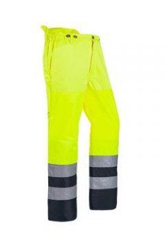 SIP bosmaaierbroek geel-zwart fluoriserend Hi-Vis EN ISO 20471 M 1SQ5-387