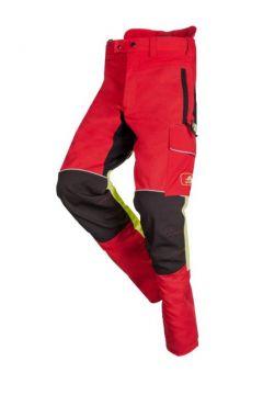 SIP zaagbroek Progress rood/fluo geel/zwart L 1SRL-830 R