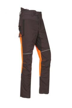 SIP zaagbroek Progress grijs/fluo oranje/ zwart XS 1SRL-832 R