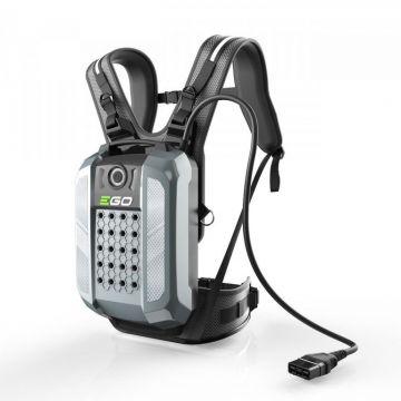 Tijdelijk niet beschikbaar - EGO rugaccu BAX1501 28 Ah IP 56 incl. harnas en adapter