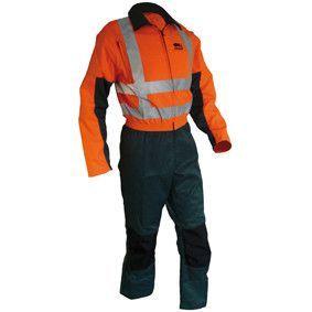 STICOMFORT snipperoverall groen-oranje maat 58 5176-58