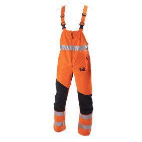 STICOMFORT veiligheidsoverall oranje met RWS striping