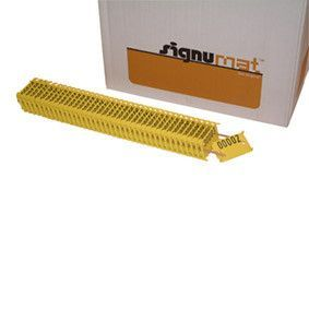 LATSCHBACHER doos-plaatje geel-zwart 002 NR 1/1000