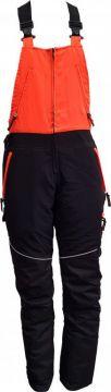 STICOMFORT veiligeheidsoverall Amerikaans zwart-oranje M 7090-m