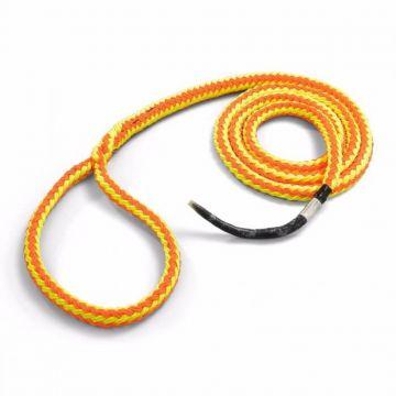 NEW ENGLAND vangstrop Trex Loopie oranje-geel 15,9 mm 5/8 2,5 m