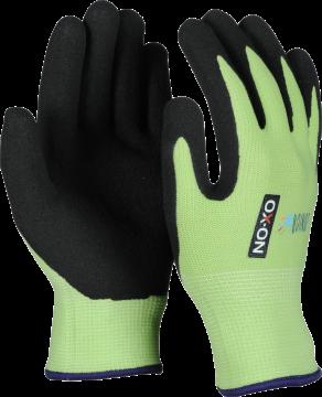 OX-ON werkhandschoen Junior 1000 groen 4-6 jaar 059.04