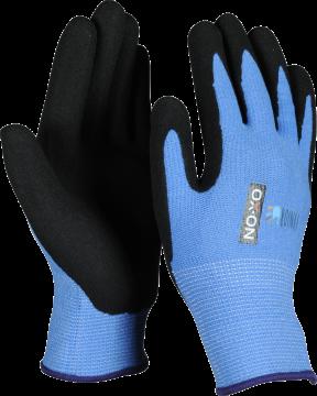 OX-ON werkhandschoen Junior 1000 blauw 4-6 jaar 057.04