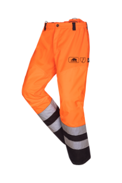 SIP bosmaaierbroek oranje-zwart fluoriserend XXL 1rj1-130