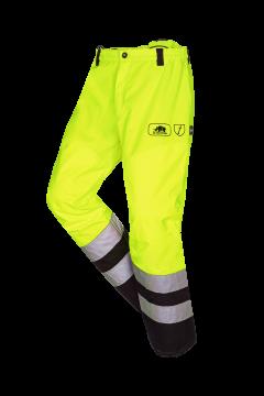 SIP bosmaaierbroek geel-zwart fluoriserend L 1rb5-386-l