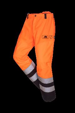 SIP bosmaaierbroek oranje-zwart fluoriserend XXL 1rb5-183-xxl