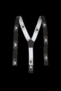 SIP bretels zwart-wit 120 cm Velco Universeel