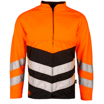 SIP kettingzaagjas Basepro oranje-zwart fluoriserend klasse 3 L