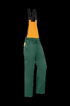 SIP zaagoverall Tradition groen-oranje fluoriserend L 1XIG-526