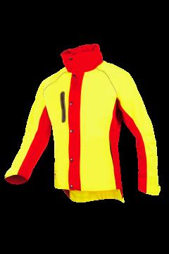 SIP regenjas Keiu geel-rood fluoriserend L 1SLR-768-L