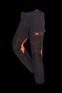 SIP bosmaaierbroek grijs-oranje fluoriserend rsregul R M 1rb4-013