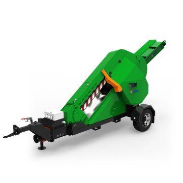 POSCH brandhoutzaag AutoCut ZE20.5 15 kW E-motor 400 V M1160Z