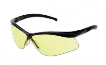 DYNAMIC SAFETY veiligheidsbril Warrior Lens amber zwart