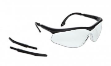 DYNAMIC SAFETY veiligheidsbril OWL Lens clear zwart