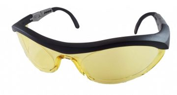 DYNAMIC SAFETY veiligheidsbril Cyclone 1 Lens amber zwart