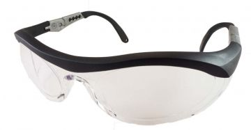 DYNAMIC SAFETY veiligheidsbril Cyclone 1 Lens clear zwart