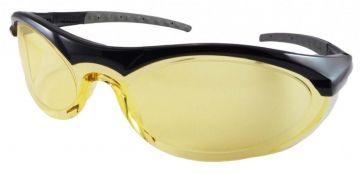DYNAMIC SAFETY veiligheidsbril Cyclone 2 Lens amber zwart