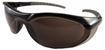 DYNAMIC SAFETY veiligheidsbril Cyclone 2 Lens smoke zwart