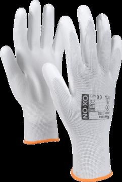 OX-ON werkhandschoen Flexible Basic 1001 wit maat 10