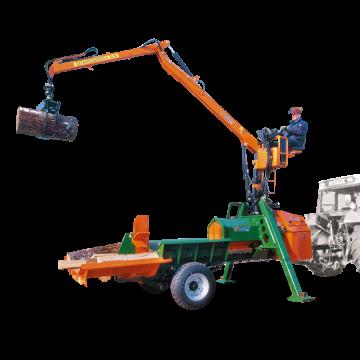 POSCH kloofmachine Splitmaster40/40 met kraan M6365TRC